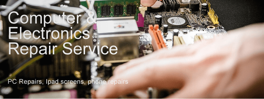 Computer, electronics repair service and friendly computer training